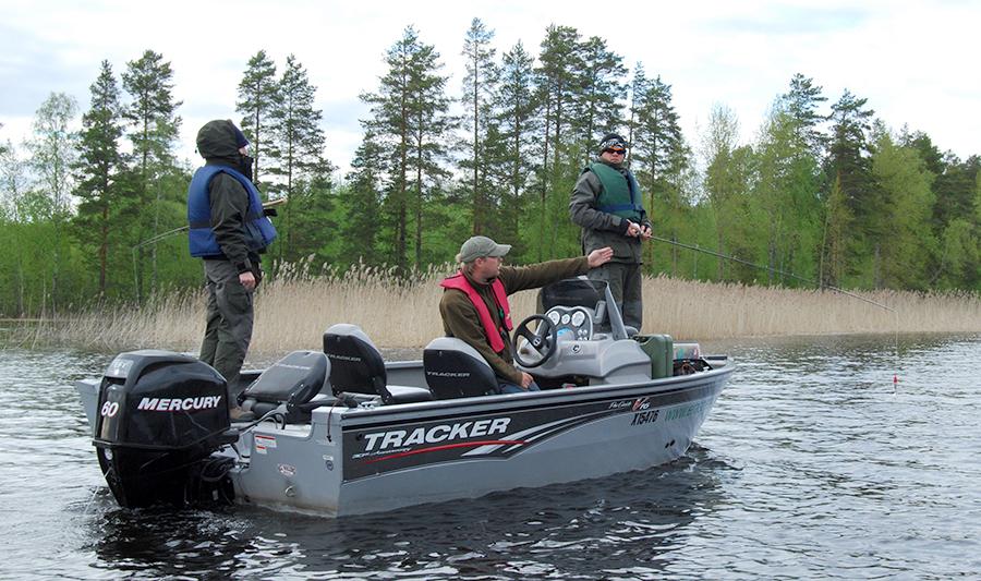 era's pete lake-fishing